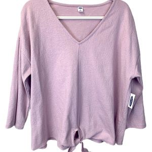 Old Navy Lavender Dolman Size XL Top NWT